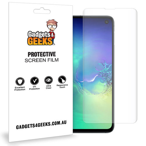 Aerios 2x Full Coverage TPU Screen Protector for Samsung Galaxy S10e